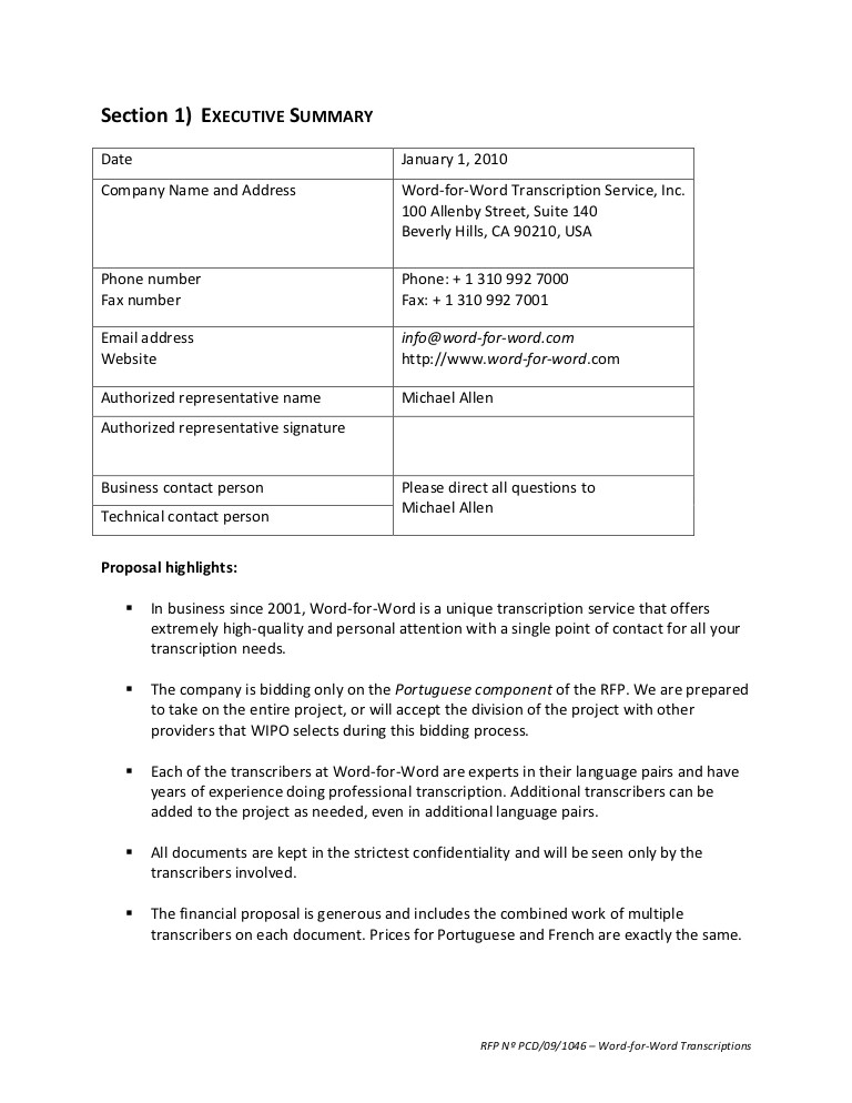 7402 request for proposal rfp template