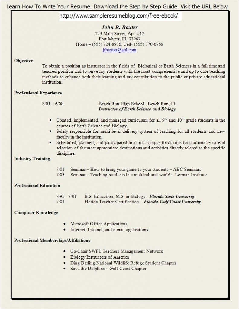 Resume Builder Template for Teachers Teacher Resume Template 2017 Learnhowtoloseweight Net