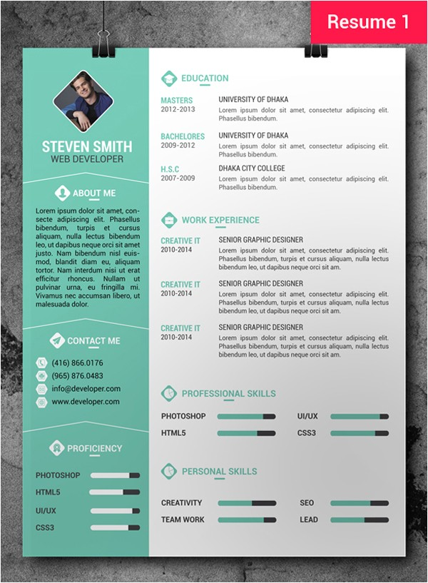 Resume Designs Templates Free Cv Resume Psd Templates Freebies Graphic Design