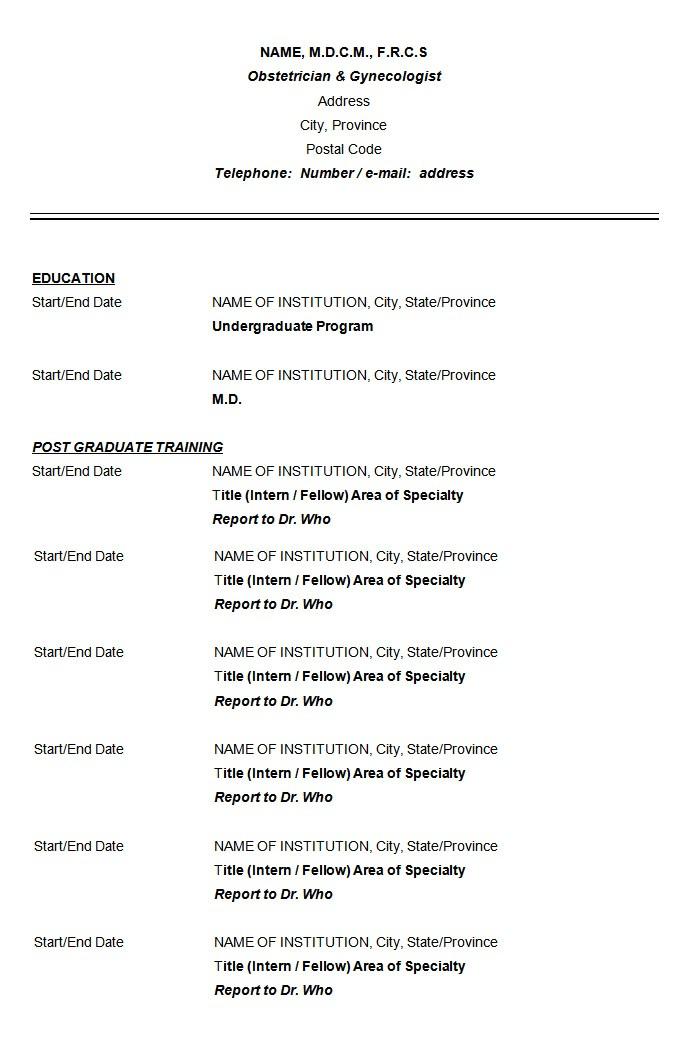 Resume format Template Download 68 Cv Templates Pdf Doc Psd Ai Free Premium