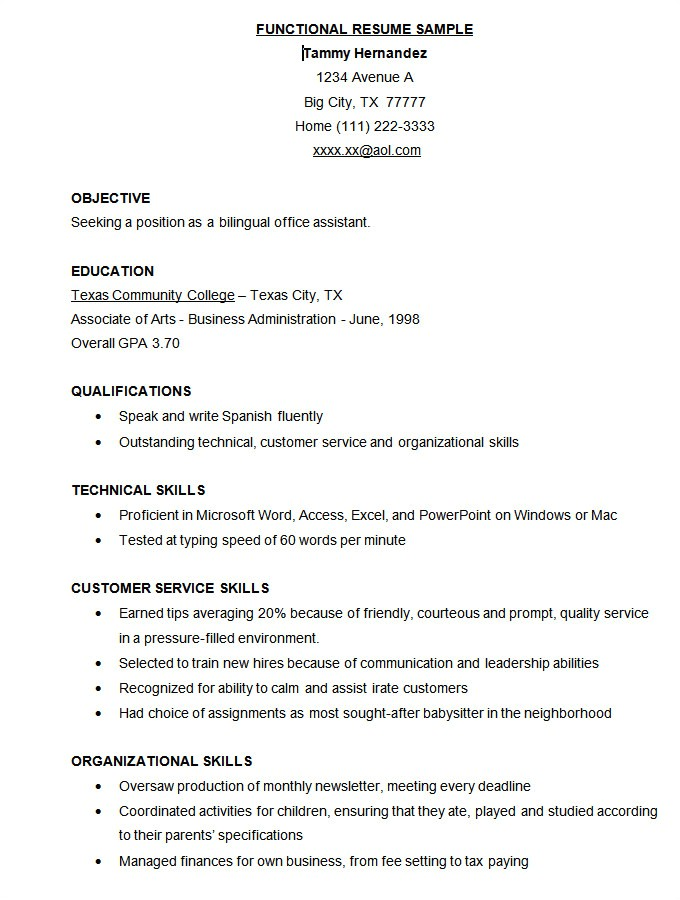 Resume format Template Free Download Microsoft Word Resume Template 49 Free Samples