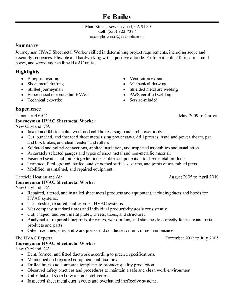 Resume Sample for Construction Worker Resume Template for Construction Worker Sample Resume