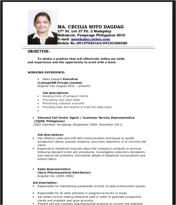 Resume Sample for Nurses Fresh Graduate Resume format for Fresh Graduates with No Experience