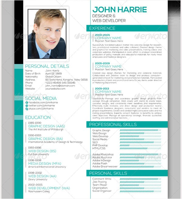 Resume Template for It Professional Professional Resume Template 60 Free Samples Examples