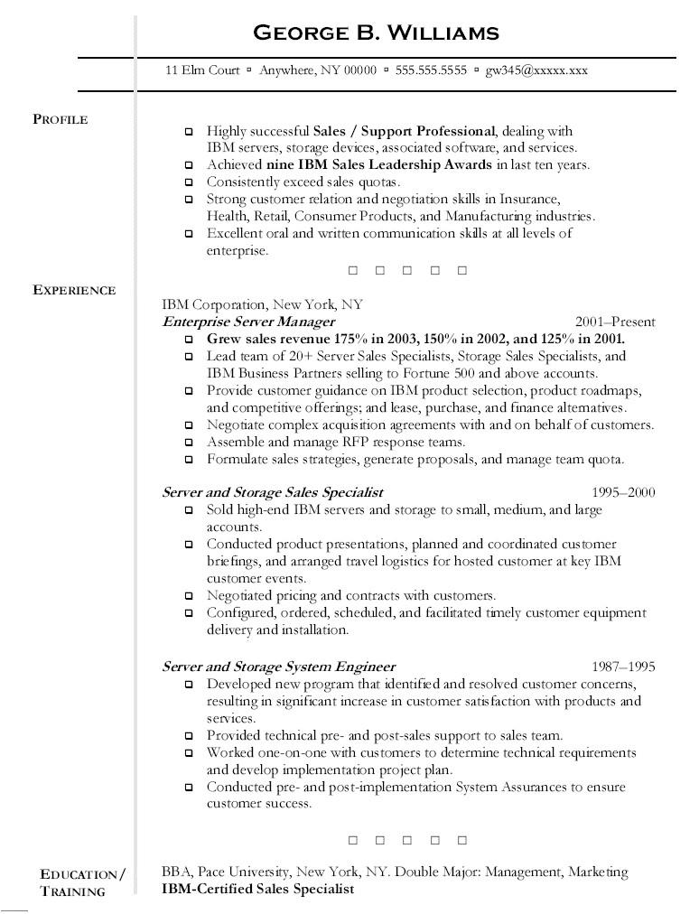 server resume 1261