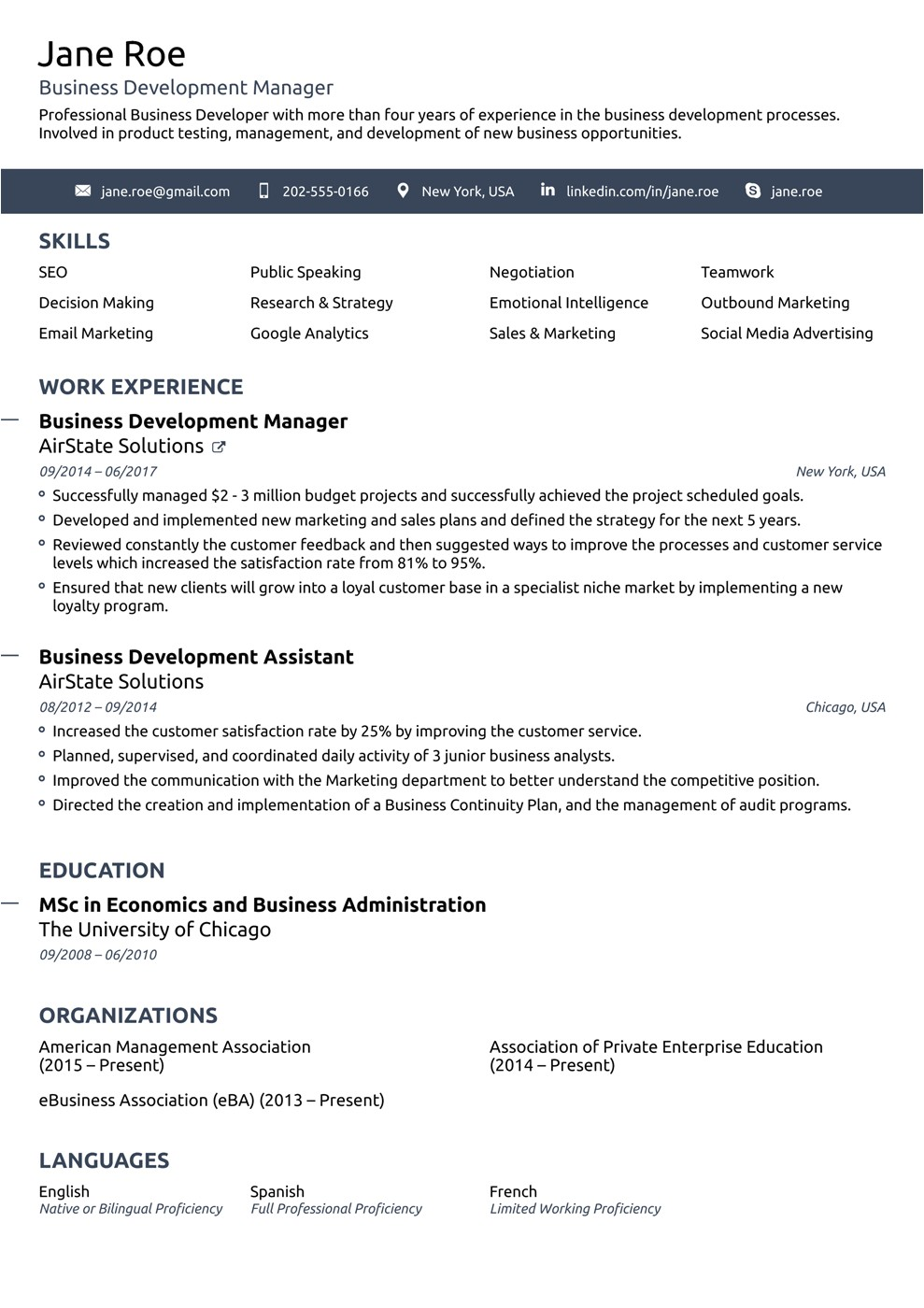 Resume Template Images 2018 Professional Resume Templates as they Should Be 8
