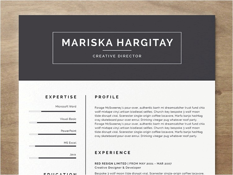 Resume Template Indesign Free 20 Beautiful Free Resume Templates for Designers