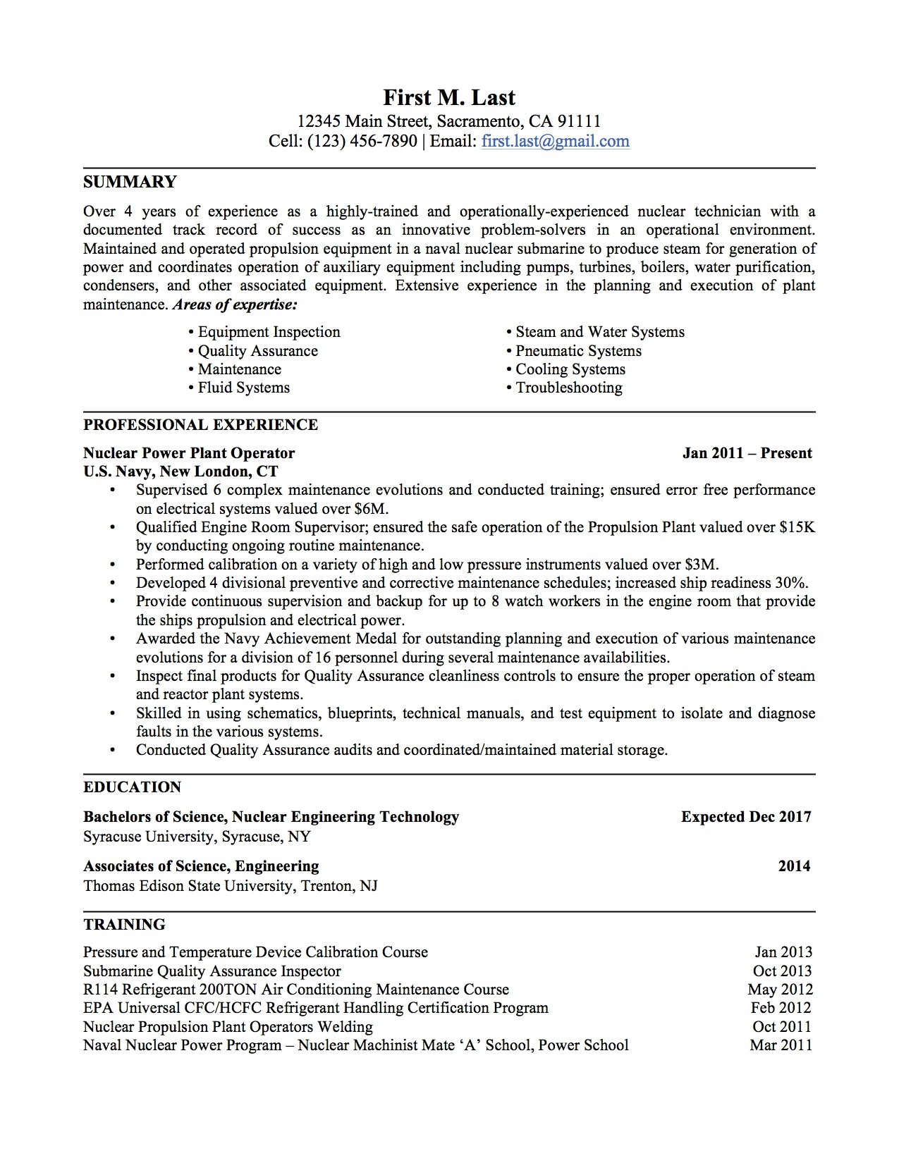 Resume Template Military Experience Military to Civilian Resume Amplifiermountain org