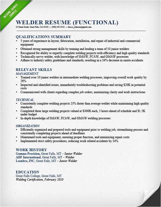 Resume Templates Construction Construction Worker Resume Sample Resume Genius