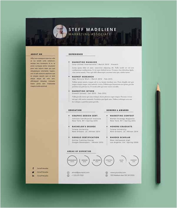 Resume Templates Downloads 20 Free Cv Resume Templates Psd Mockups Freebies