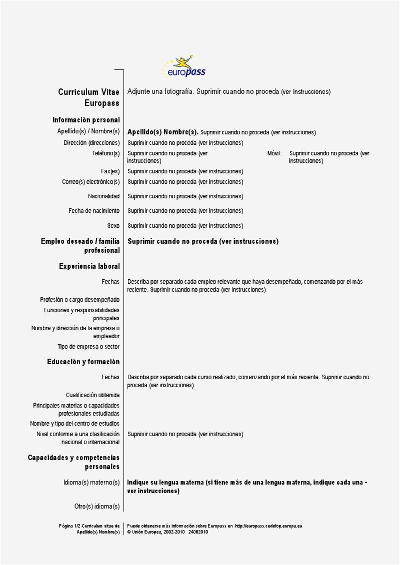Resume Templates En Espanol Ejemplos De Resume En Espanol Resume Template Cover