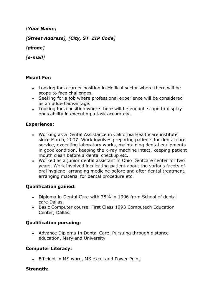 Resume Templates No Experience Sample College Student Resume No Work Experience Sample
