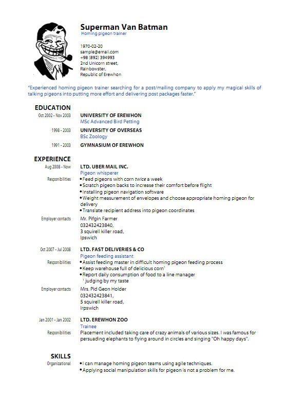 Resume Templates Pdf Free Pdf Resume Template Learnhowtoloseweight Net