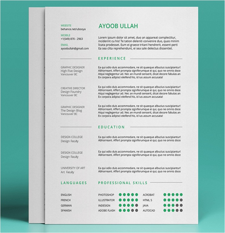 Resume Templates that are Actually Free Really Free Resume Builder Resume Template