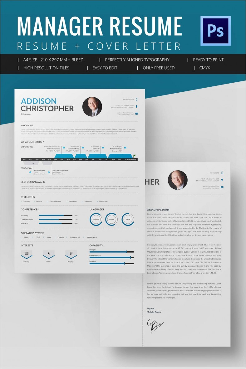 Resume Templates Word Download Project Manager Resume Template 10 Free Word Excel