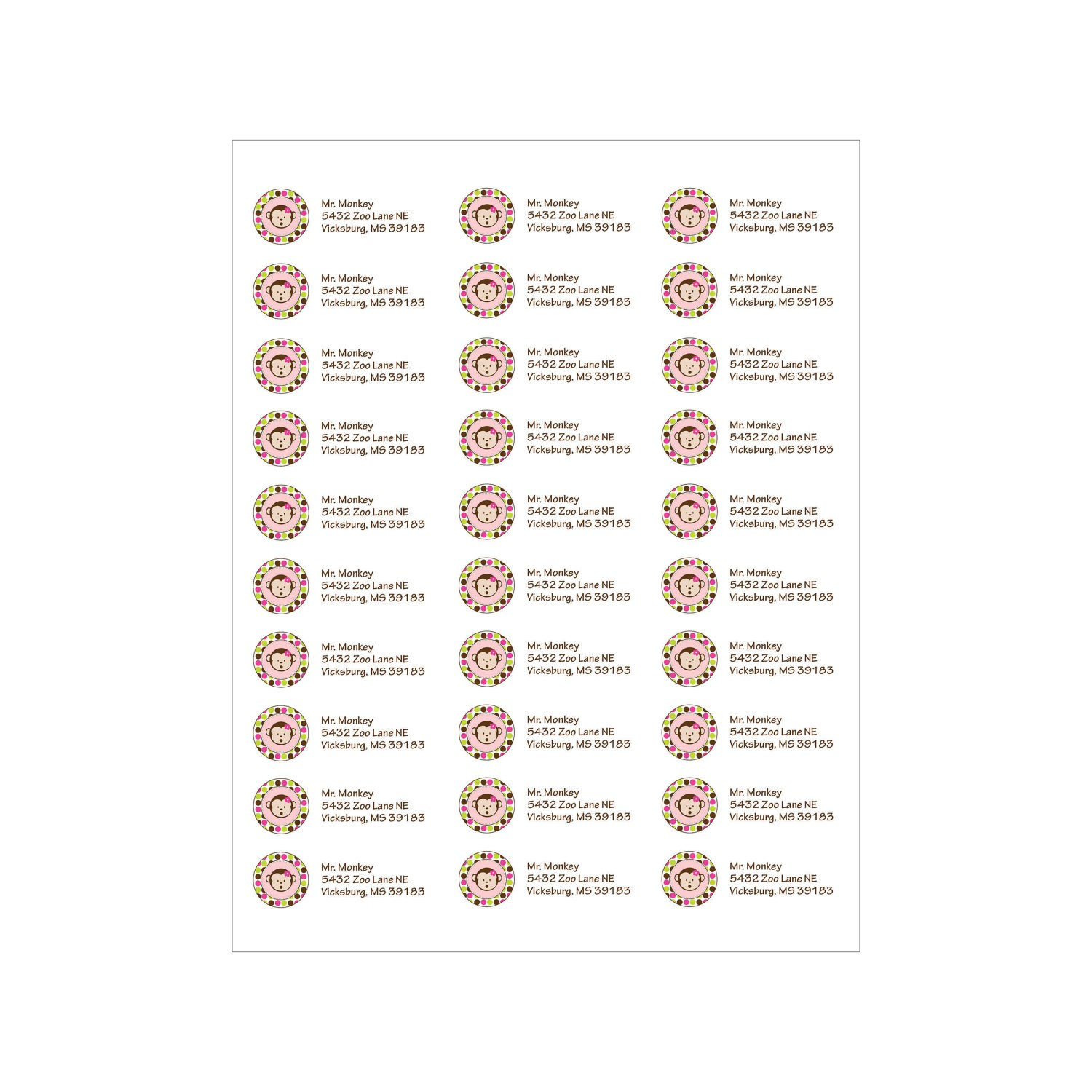 Return Address Label Template Avery 5160 Free 5160 Label Template Word Templates Data