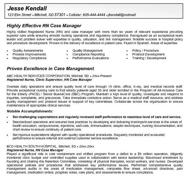 Rn Case Manager Resume Template Rn Case Manager Resume Http Getresumetemplate Info