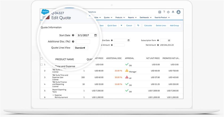 salesforce cpq configura productos precios y presupuestos adaptados a cada cliente