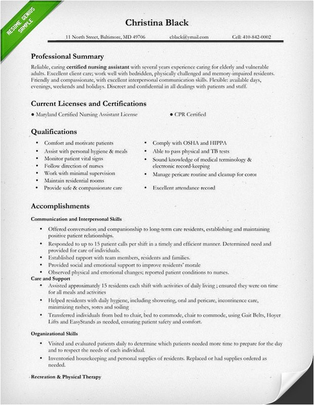 Sample Nursing Resume Templates Nursing Resume Sample Writing Guide Resume Genius