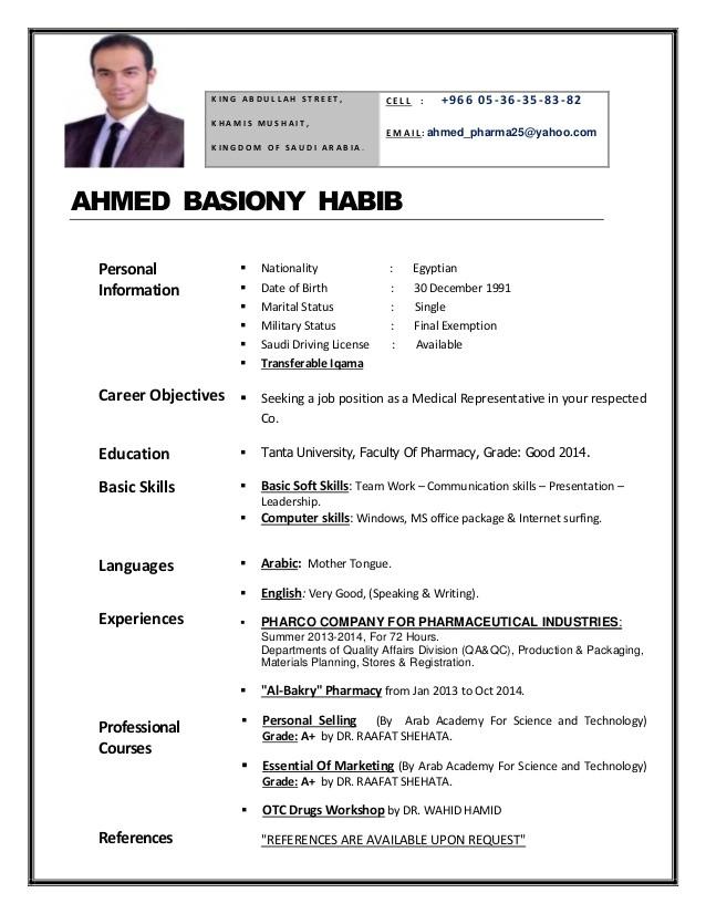 drahmed habib resume