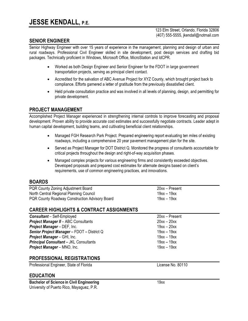 Sample Of Professional Resume 7 Samples Of Professional Resumes Sample Resumes