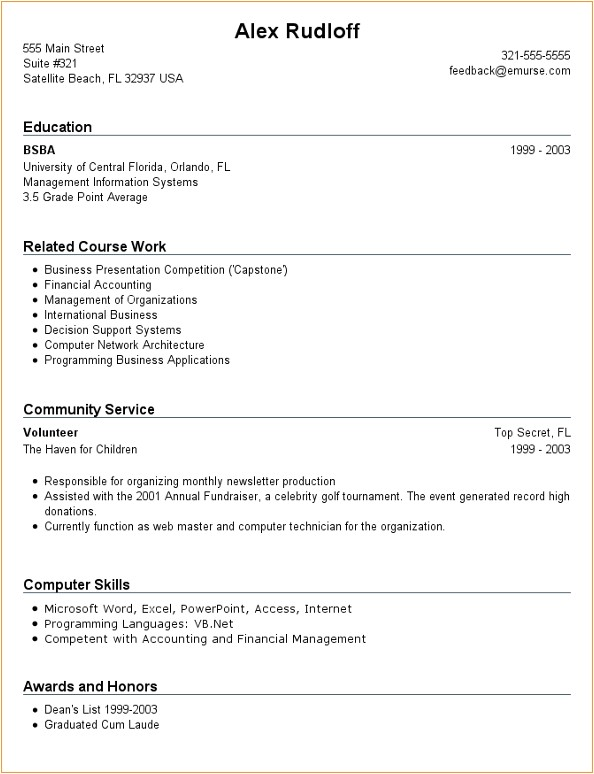 how to write a resume with no work experience sample resume with no work experience samples