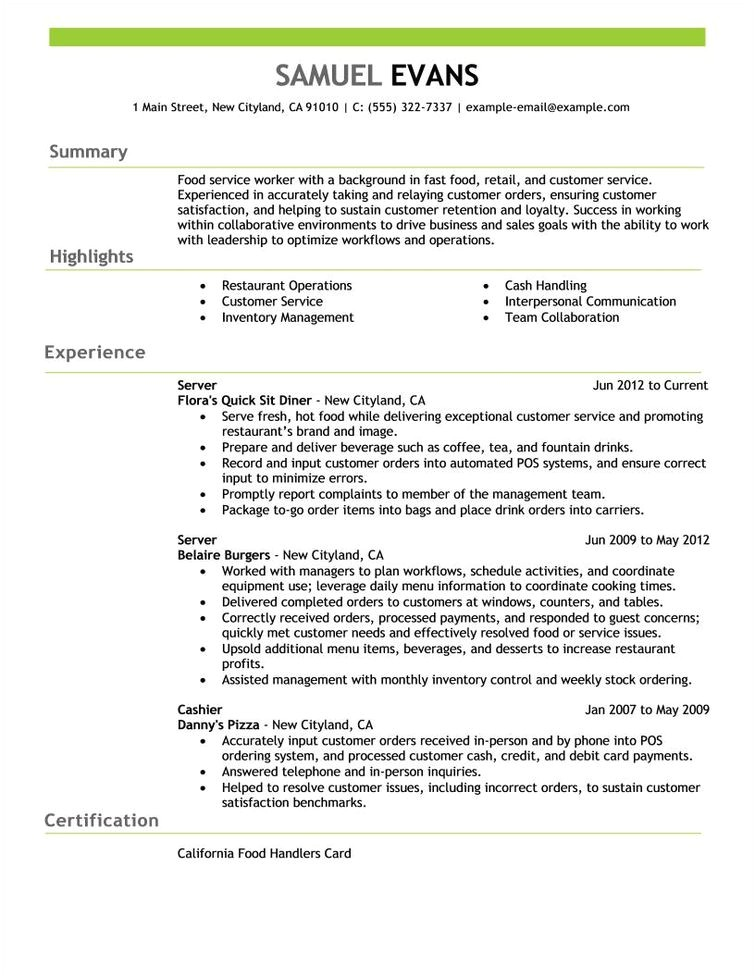 Sample Pics Of Resumes Free Resume Examples by Industry Job Title Livecareer