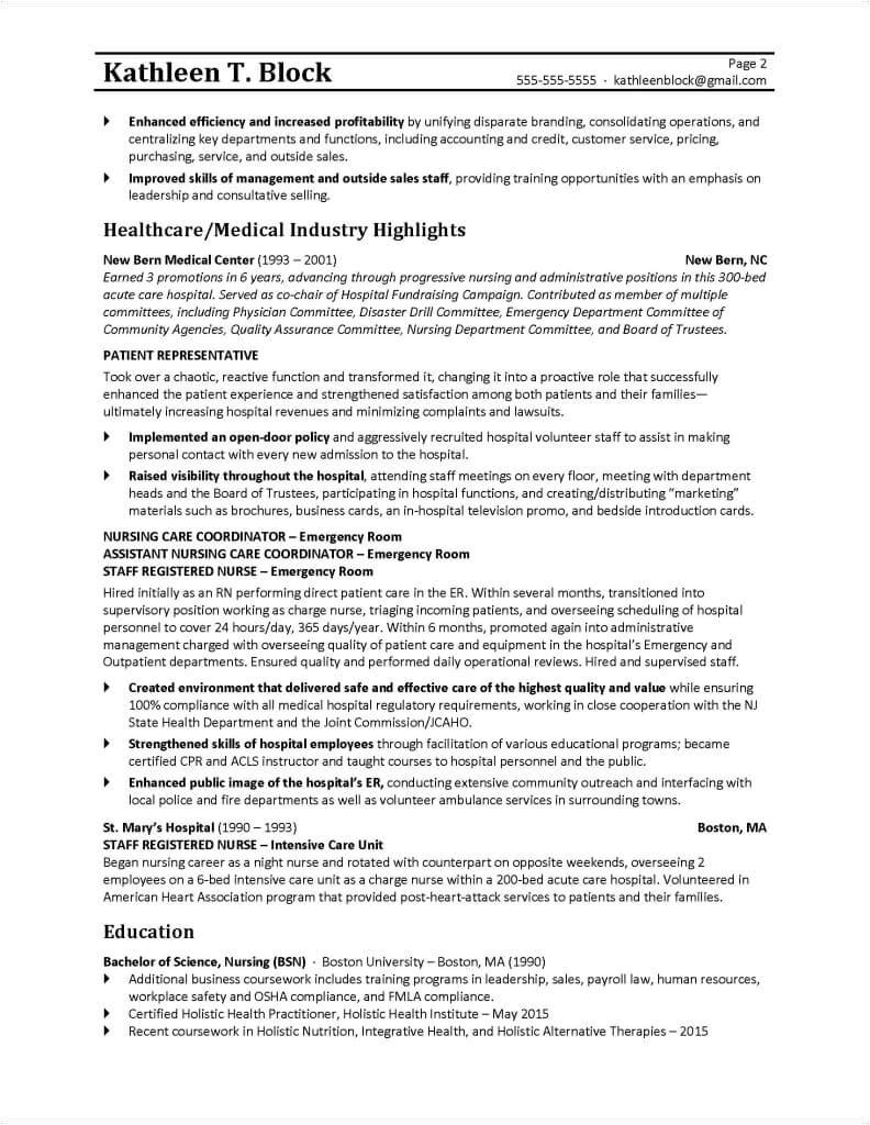 management resume
