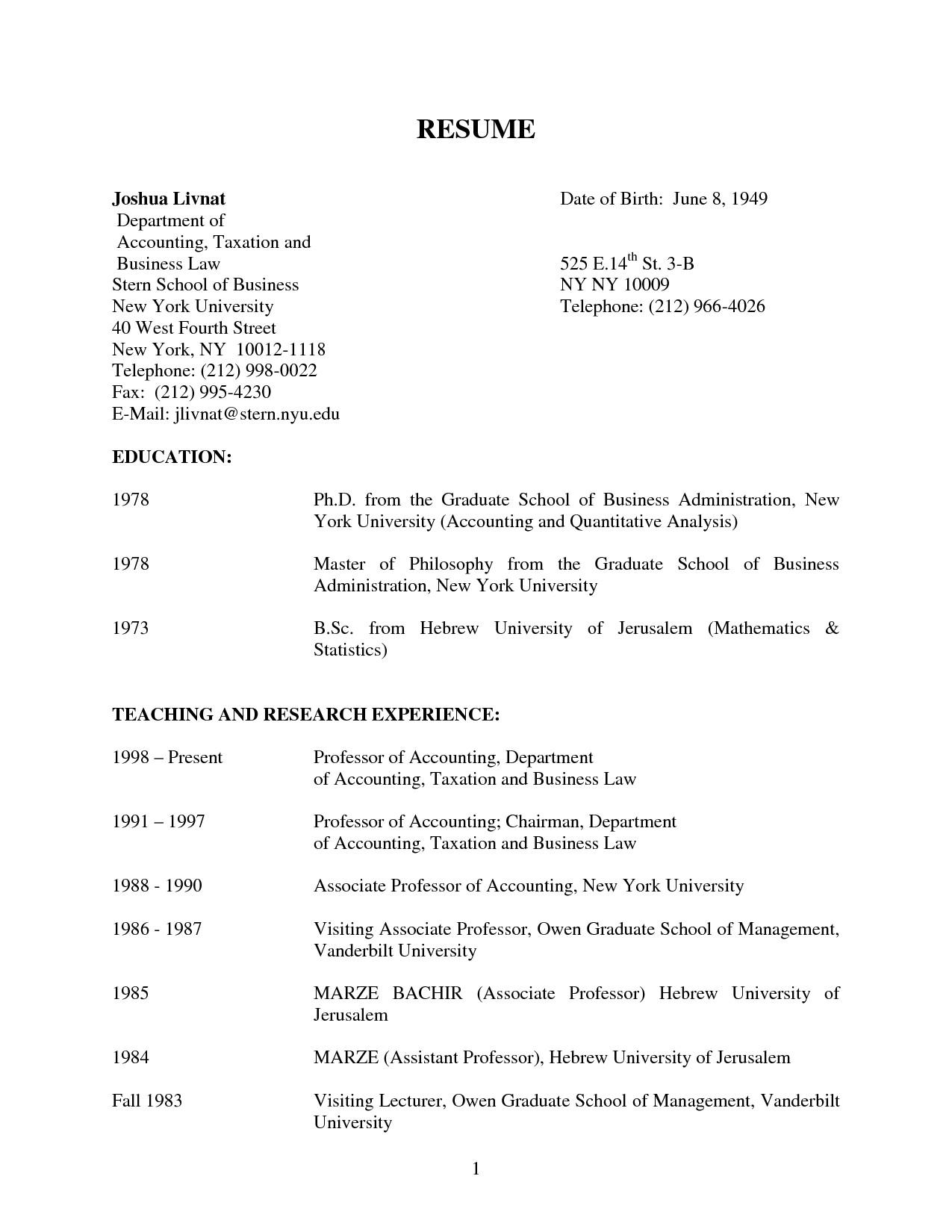 sample cpa resume philippines