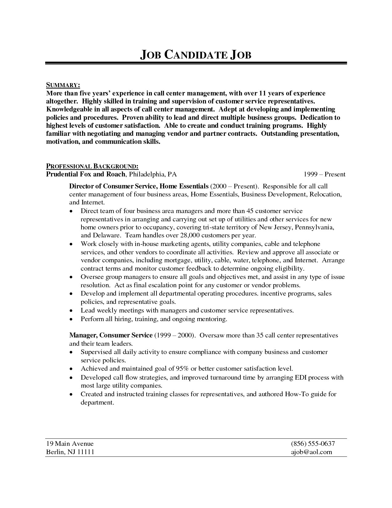 Sample Resume for Call Center Agent Applicant 13 New Sample Call Center Agent Resume Resume Sample