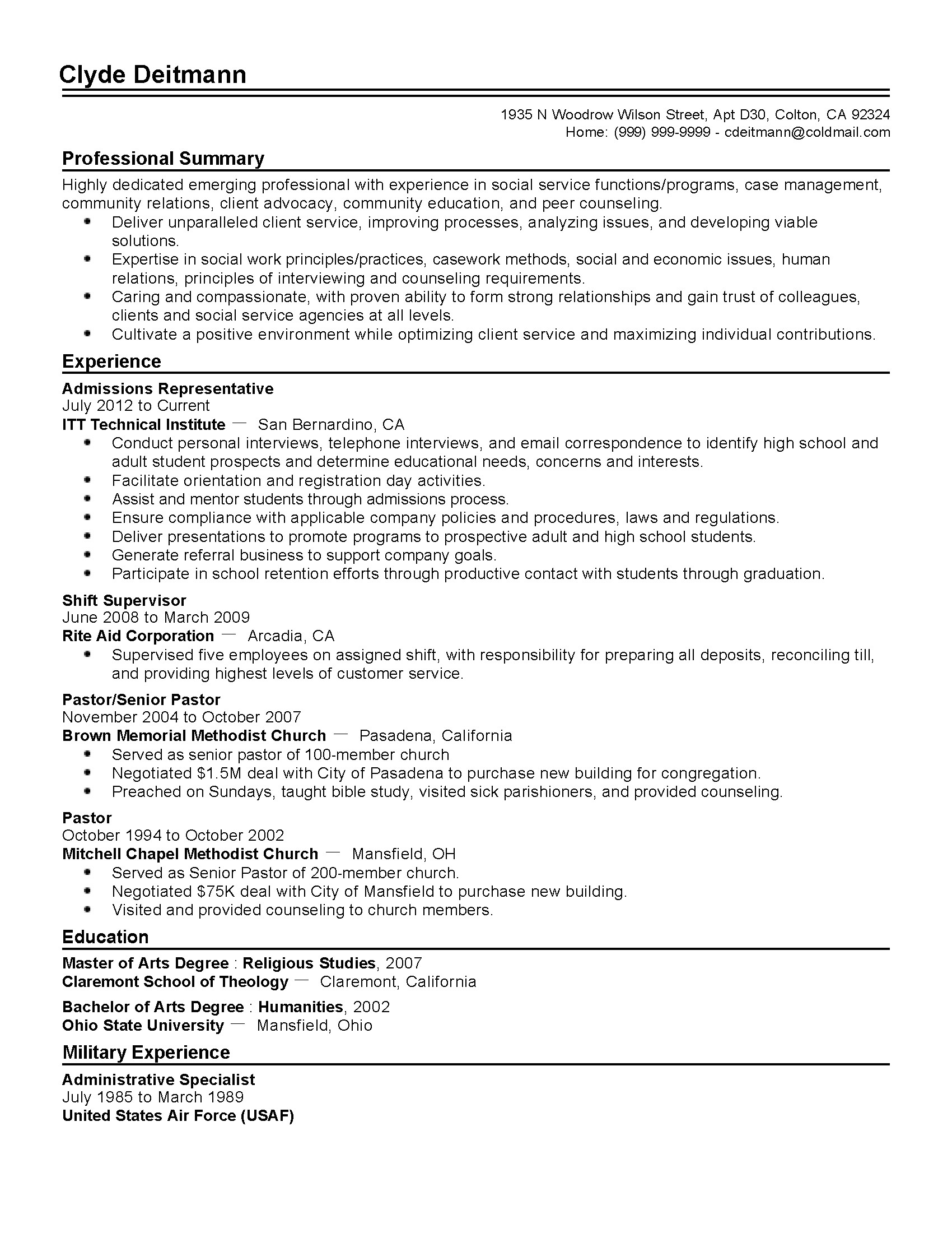 Sample Resume for College Application 15 Inspirational College Admission Resume Template