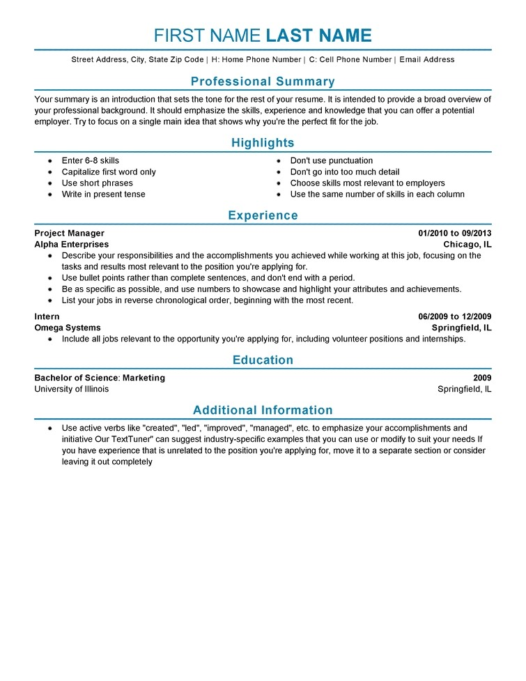 Sample Resume for Experienced Experience On A Resume Template Learnhowtoloseweight Net