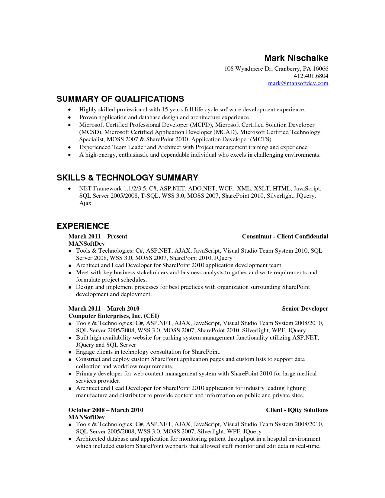factory worker resume