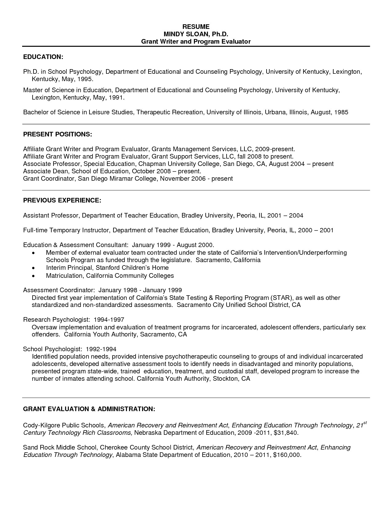 Sample Resume for Fresh Psychology Graduate Sample Resume Psychology for Graduate School Resume
