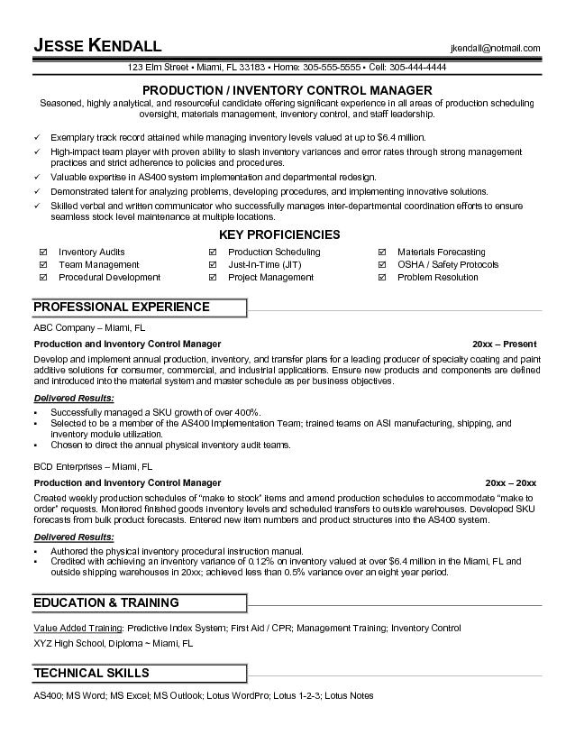 post production manager resume sample 703753