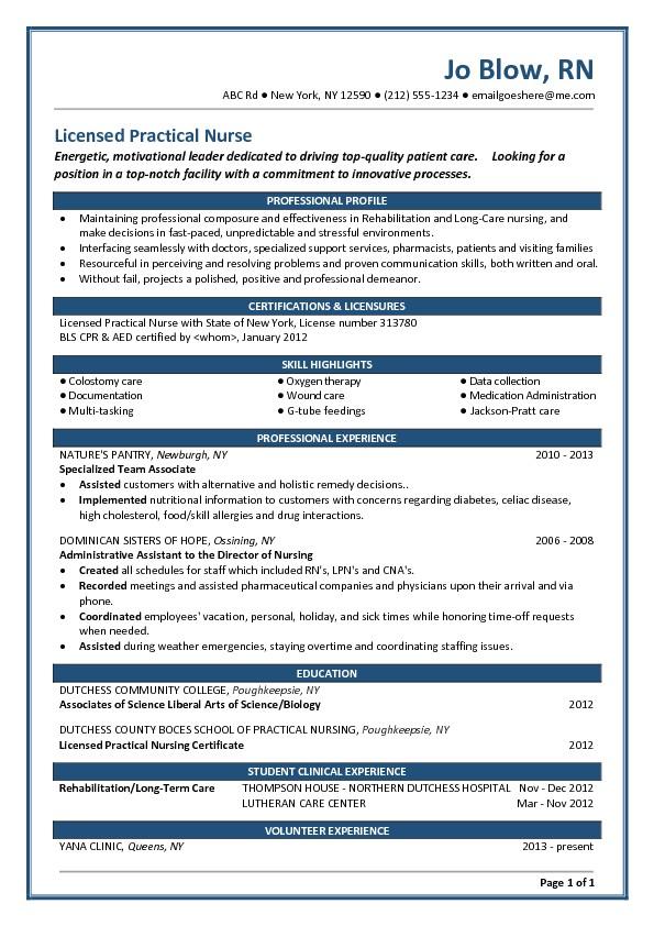 Sample Resume for Lpn New Grad Lpn Resume Templates Hvac Cover Letter Sample Hvac