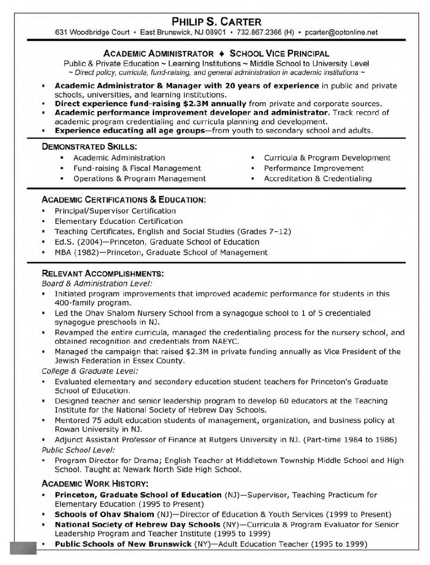 Sample Resume for Masters Program Graduate School Supervisor Resume 447 Http topresume