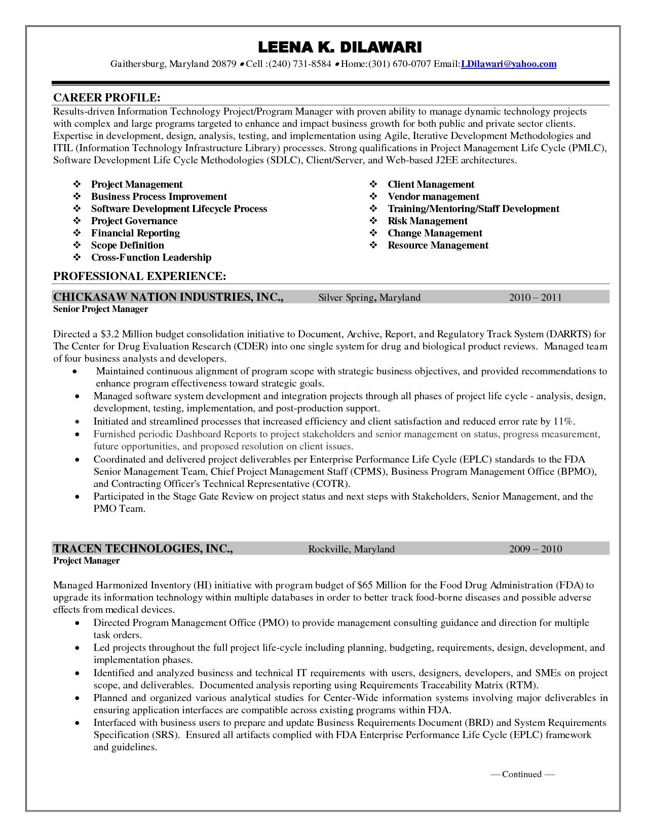 enterprise risk management resume goals and objectives resume free 14637