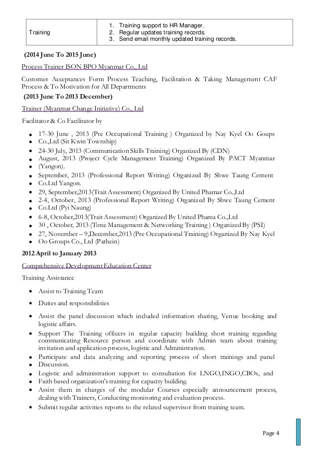 resume quality analyst bpo