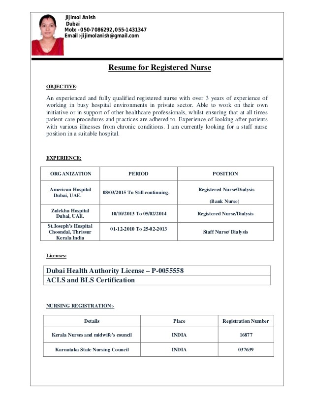 Sample Resume for Staff Nurse Position Sample Resume Staff Nurse Position Images Certificate