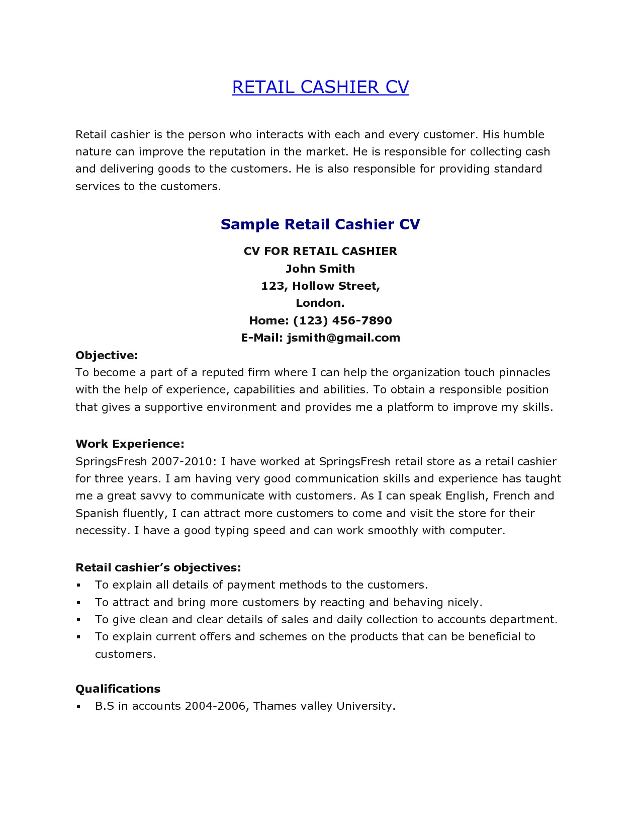 Sample Resume for Store Clerk Sample Resume for Store Clerk Resume Ideas