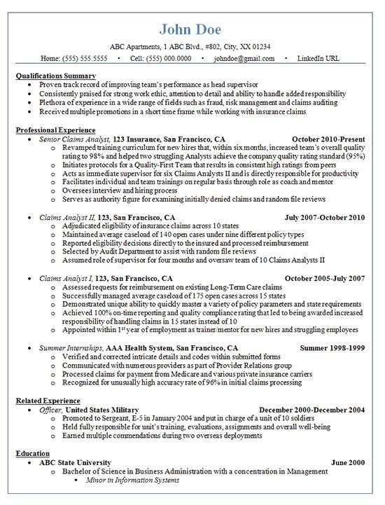 Sample Resume Promotion within Company Resume for Promotion within Same Company Best Resume