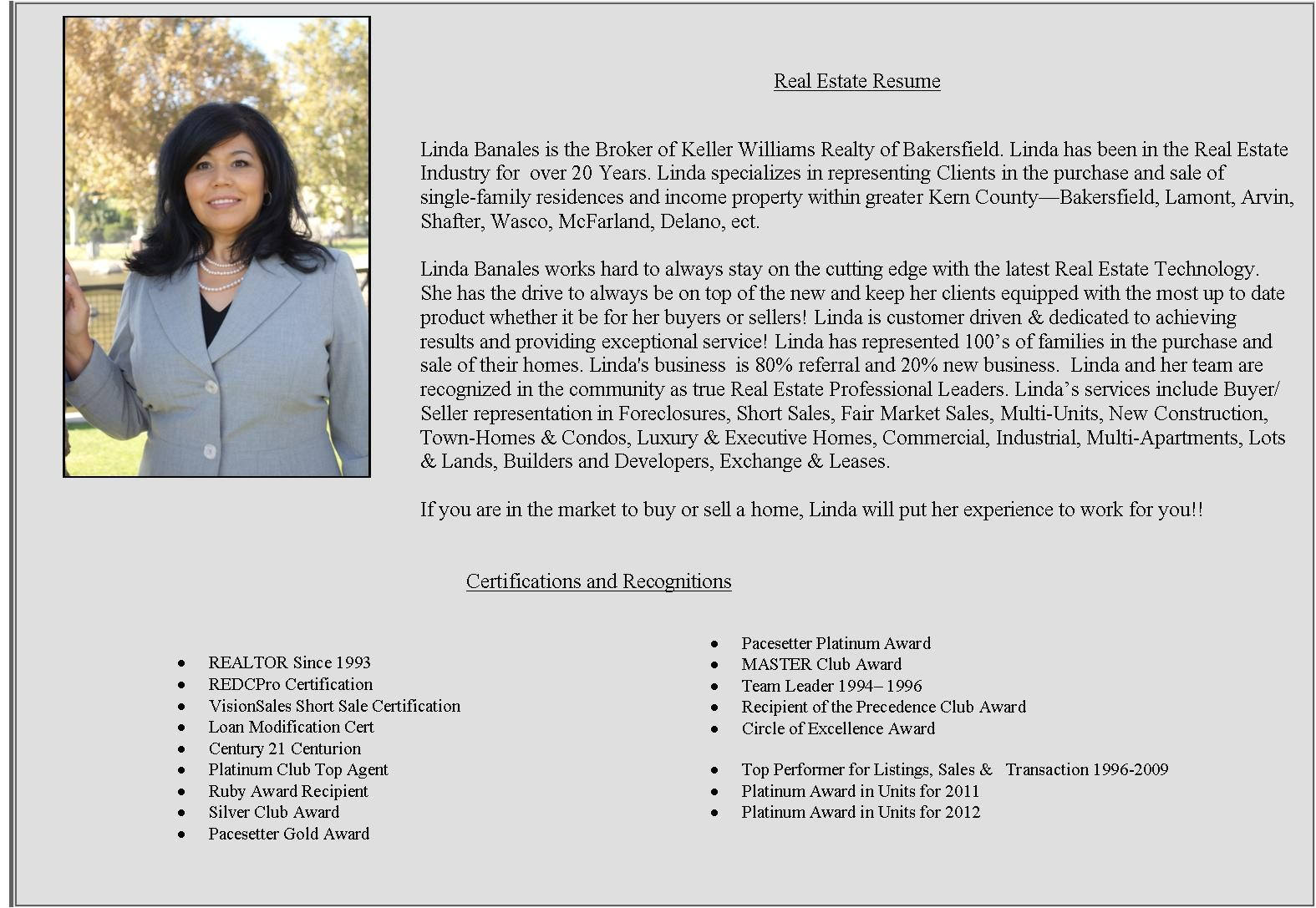 Sample Resume Real Estate Bio Examples 5 Biography Examples Legacy Builder Coaching