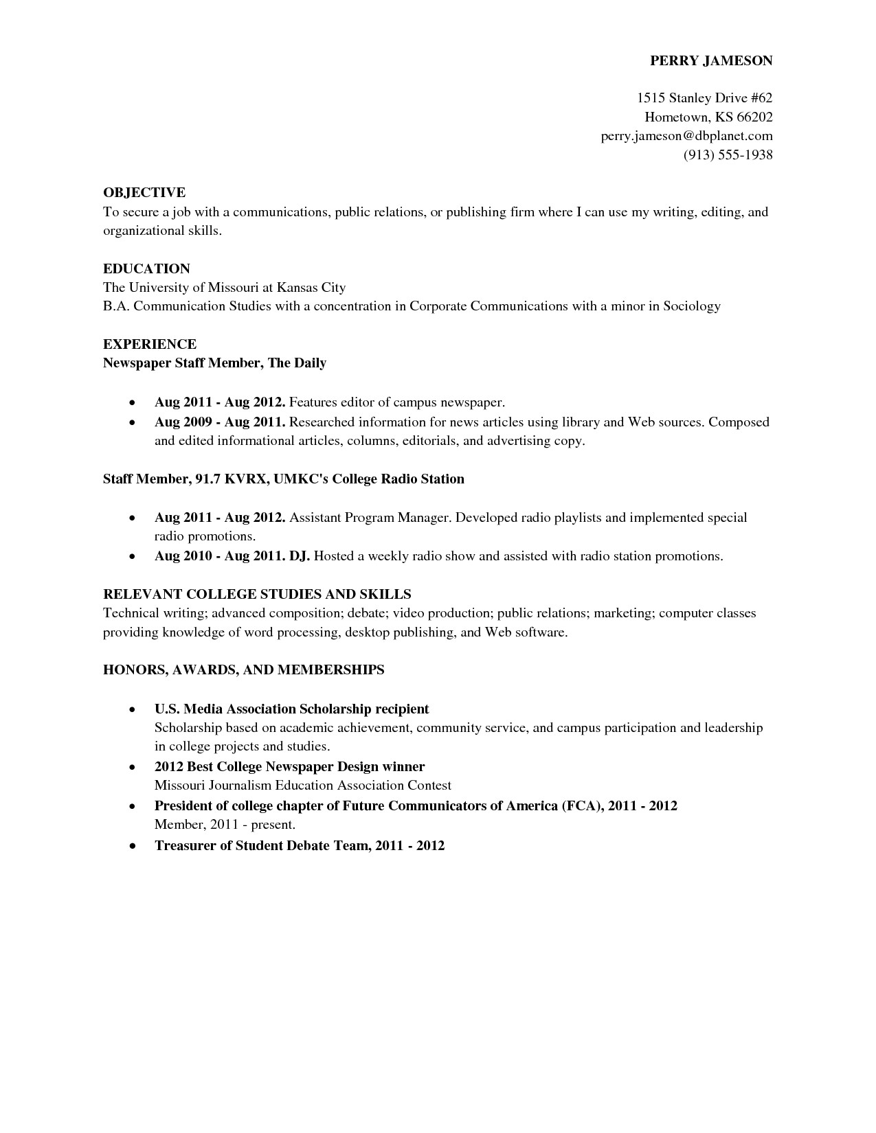 Sample Resume Skills for College Students College Graduate Resume Template Health Symptoms and