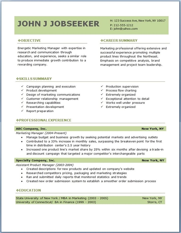 Samples Of Professional Resumes 7 Samples Of Professional Resumes Sample Resumes