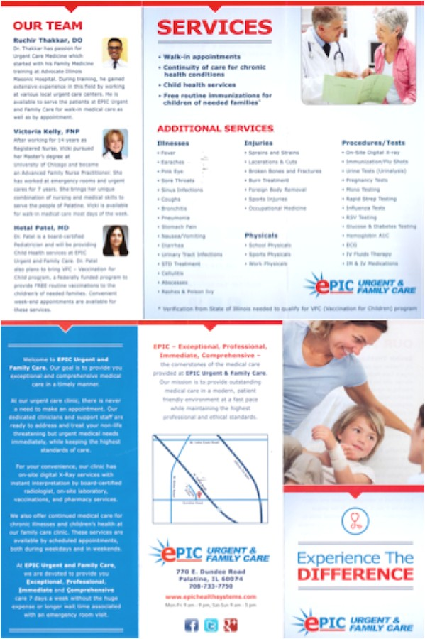urgent care brochure partial gallery of solutions donoson group marketing and ideas