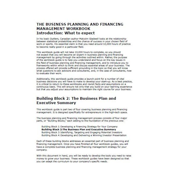 business marketing plan template