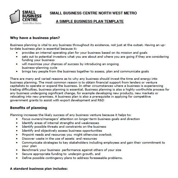post small farm business plan sample 243672