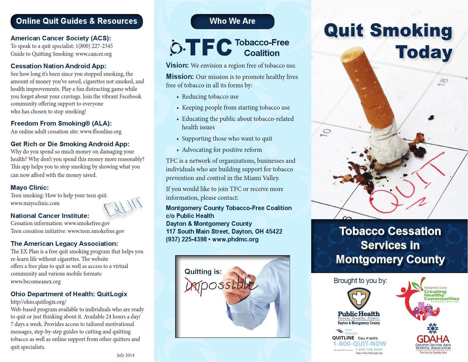 Smoking Brochure Template Smoking Cessation Brochures Xxx Porn Library