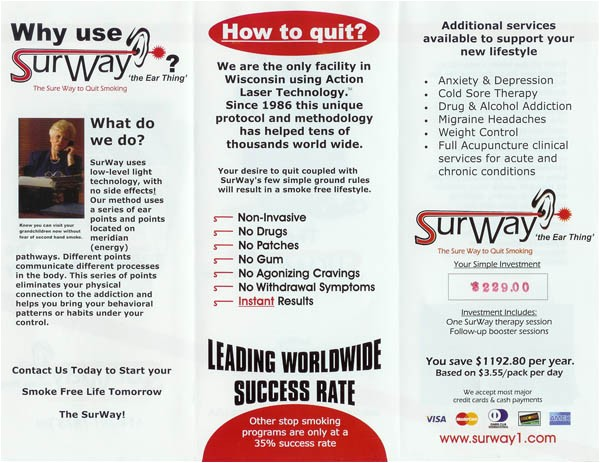 Smoking Brochure Template Stop Smoking Brochure Renanlopes Me